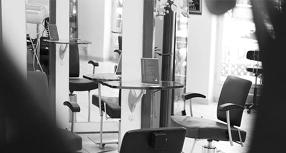 Der Salon des Haarstudios Wittmann in Kempten